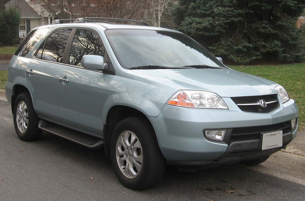 2001 Acura MDX Specifications