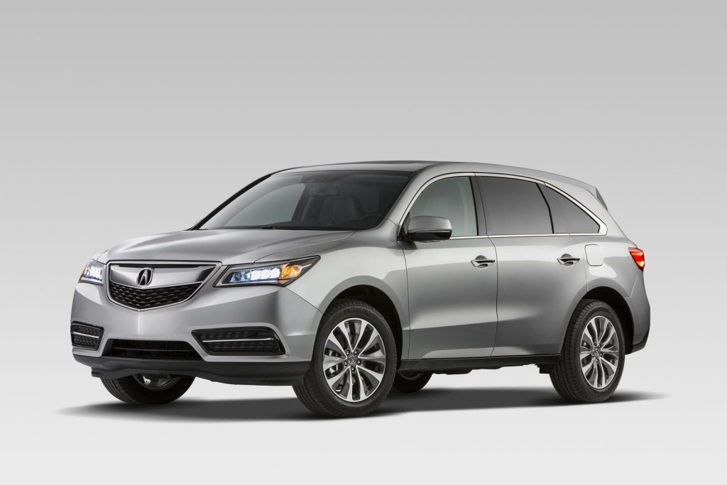 2014 Acura MDX FWD Specifications