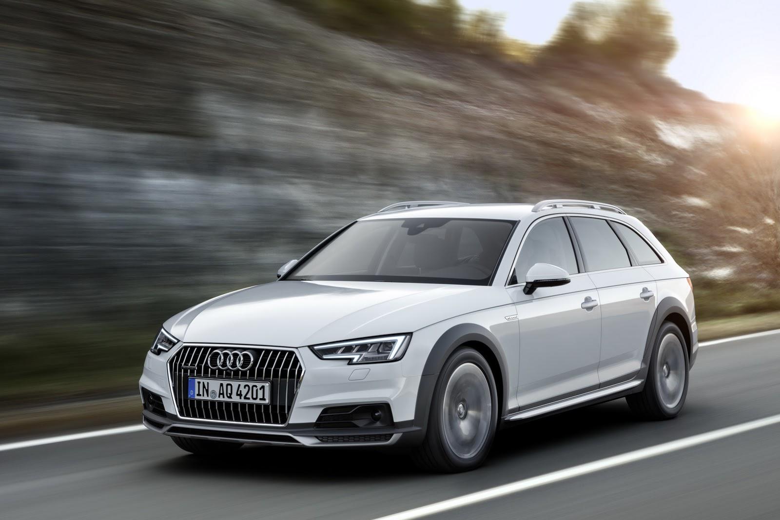Audi A4 Allroad Quattro 2017
