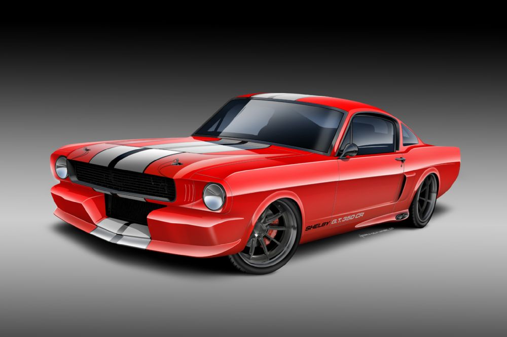 Classic Recreations is offering classic Mustangs with EcoBoost engines