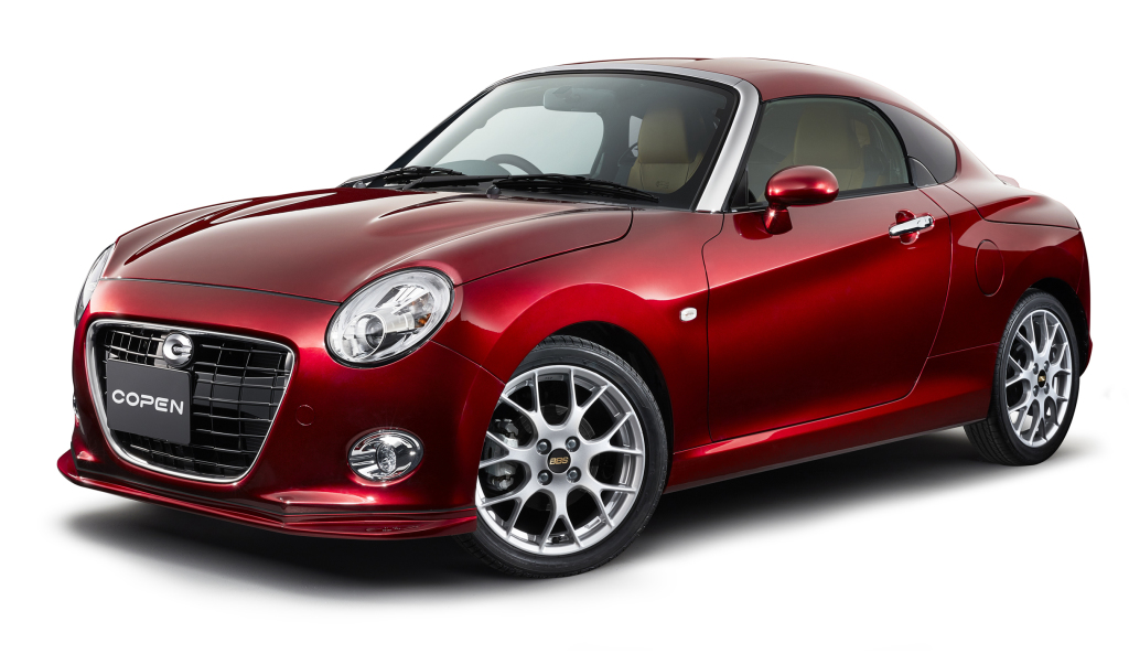 Daihatsu presented two new concepts of the Copen