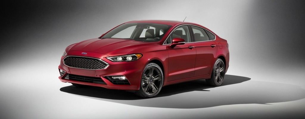 Ford Fusion facelift