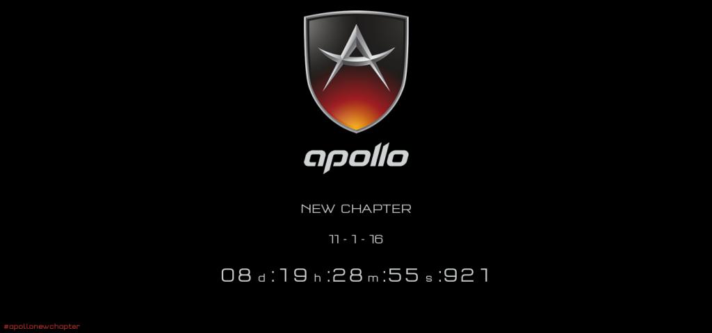 Gumpert has been renamed to Apollo