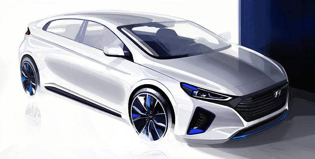 Hyundai teases the Ioniq for the third time