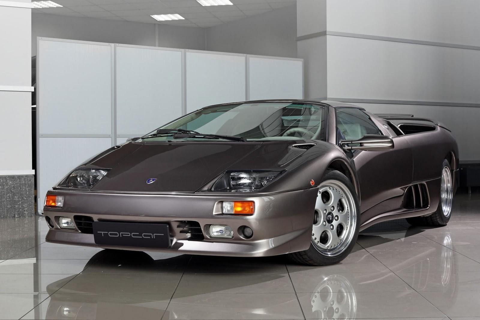 Lamborghini Diablo VT Roadster by TopCar