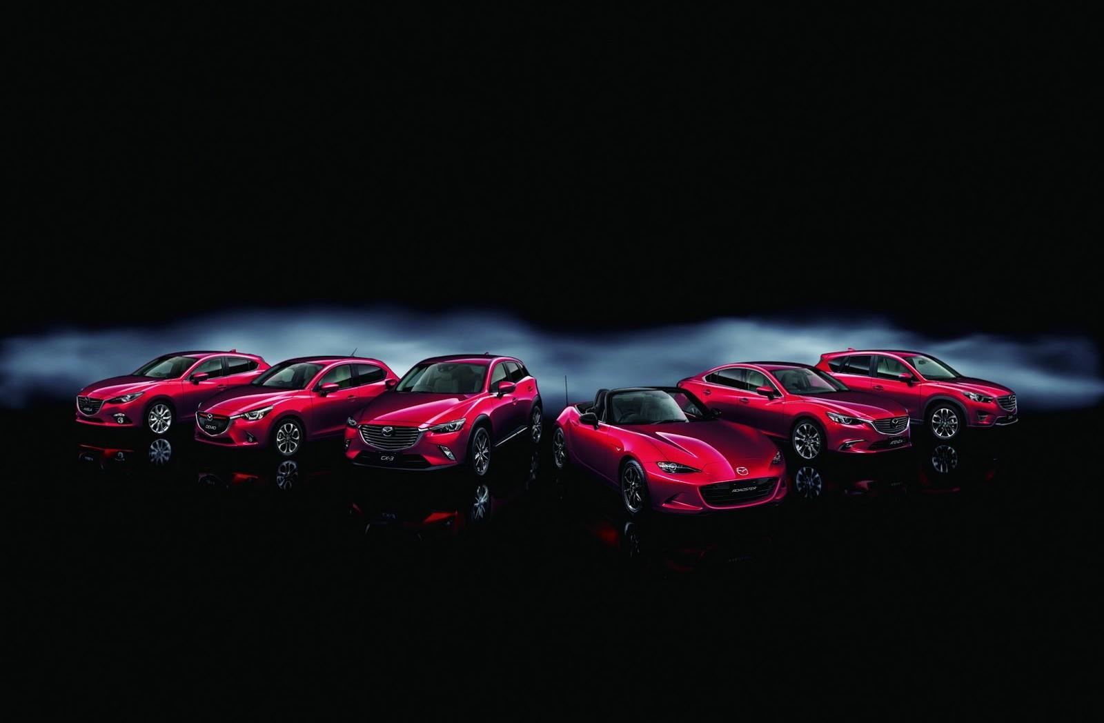 Mazda celebrates 3 million cars built, from 2011