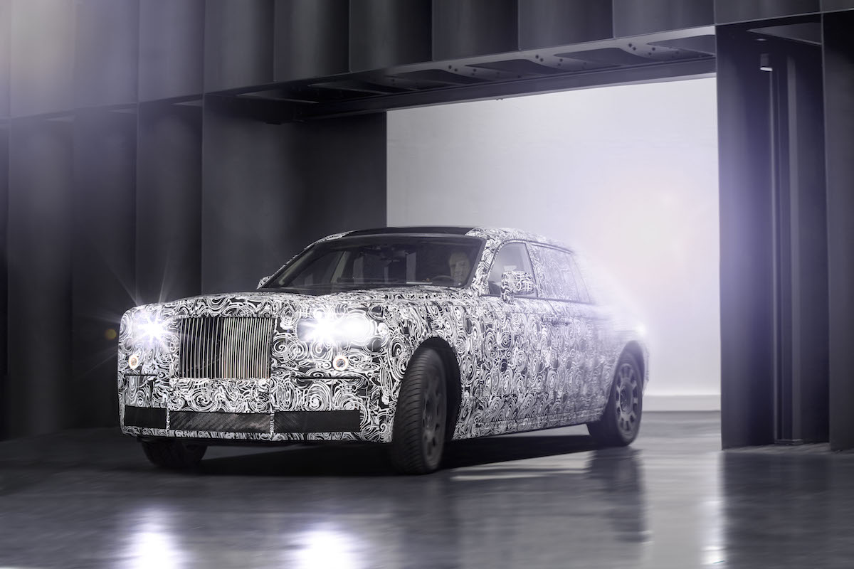 Rolls-Royce has started testing their new platform