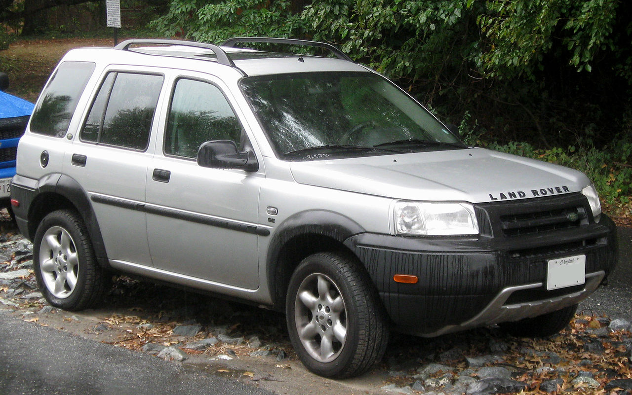 The Land Rover Freelander is now a Heeritage vehicle