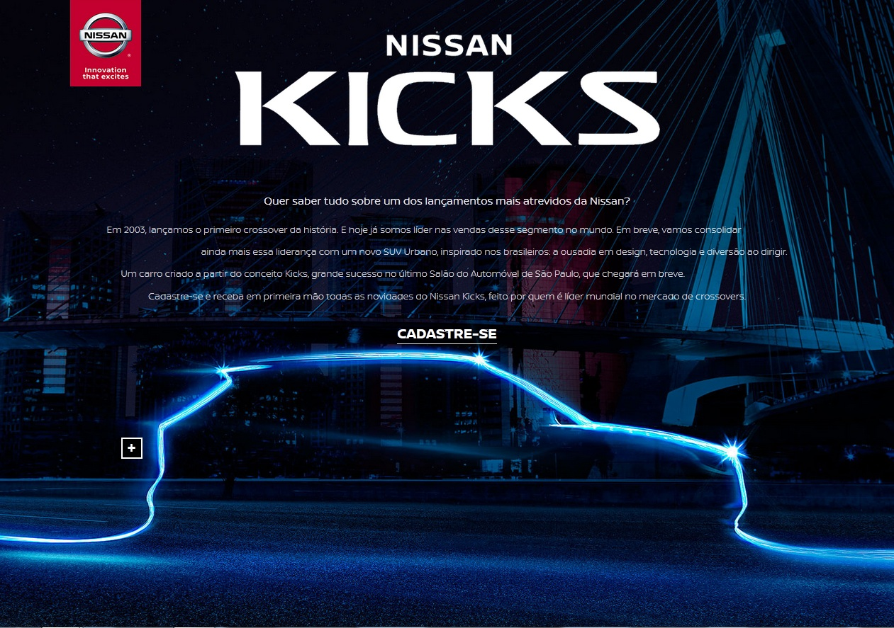 The first teaser photo of the Nissan Kicks