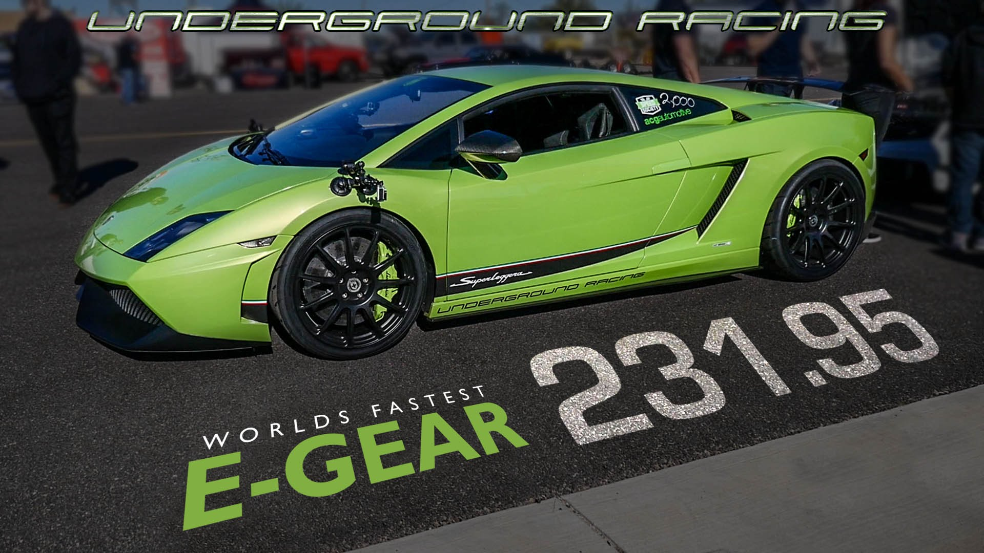 World's fastest modified Lamborghini Gallardo E-Gear