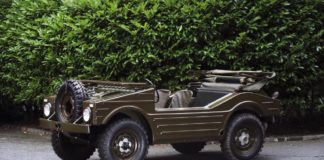 1957 Porsche 597 Jagdwagen 4X4 heads to auction