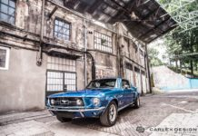 1967 Ford Mustang by Carlex