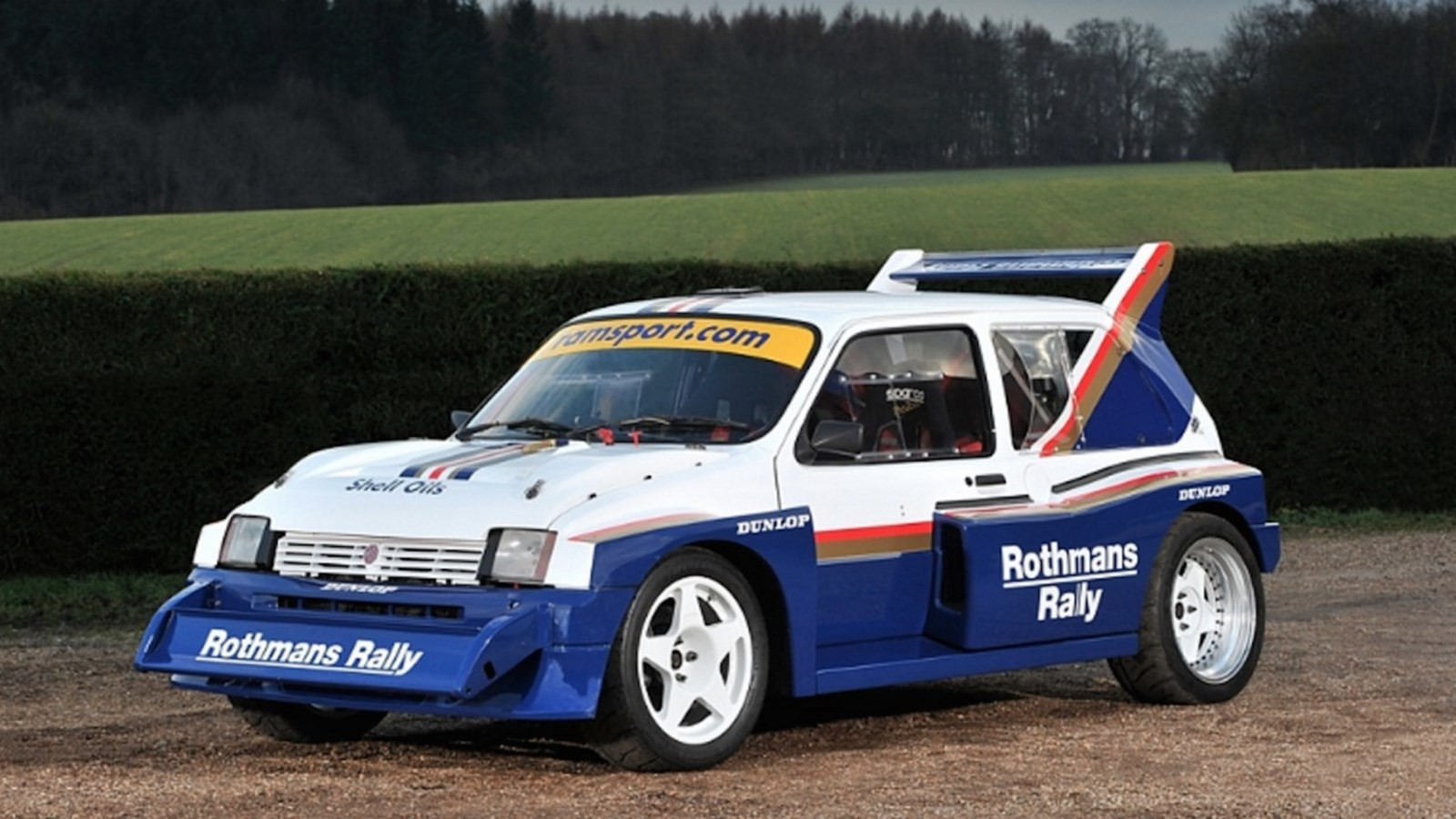 1985 mg metro group b rally car is heading to auction. Black Bedroom Furniture Sets. Home Design Ideas