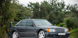 1990 Mercedes 190 Evolution II is heading to auction