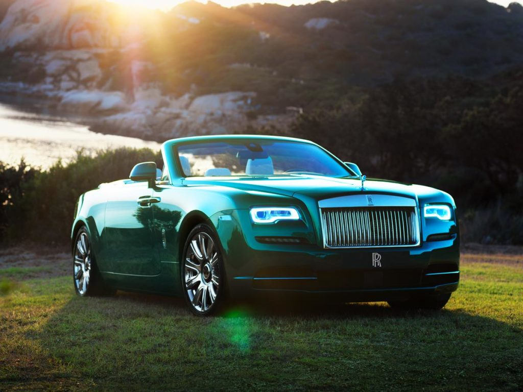 Bespoke Rolls-Royce Dawn and Wraith presented at Porto Cervo
