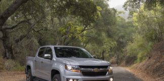 Chevrolet Colorado MY2017