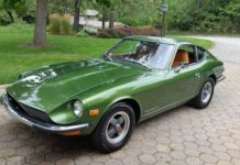 Datsun 240Z up for auction