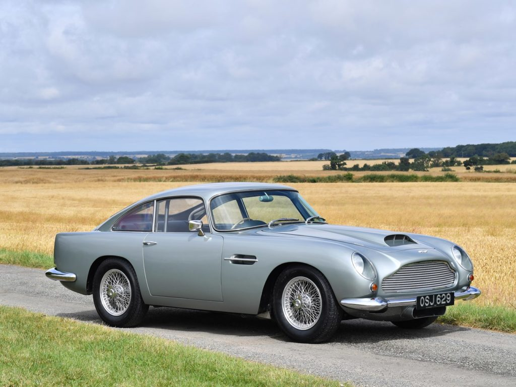 Extremely rare 1960 Aston Martin DB4 GT heads to auction