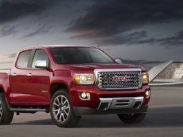 GMC Canyon MY2017