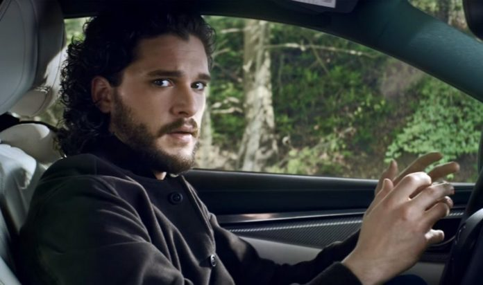 Infiniti Q60 promo video featuring Jon Snow