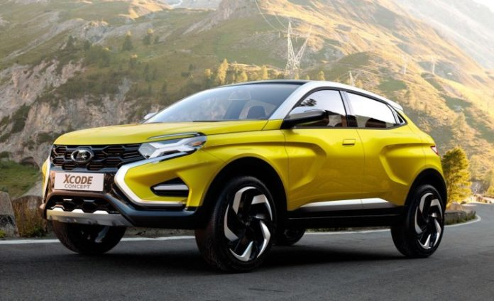 Lada presented 6 new concept cars
