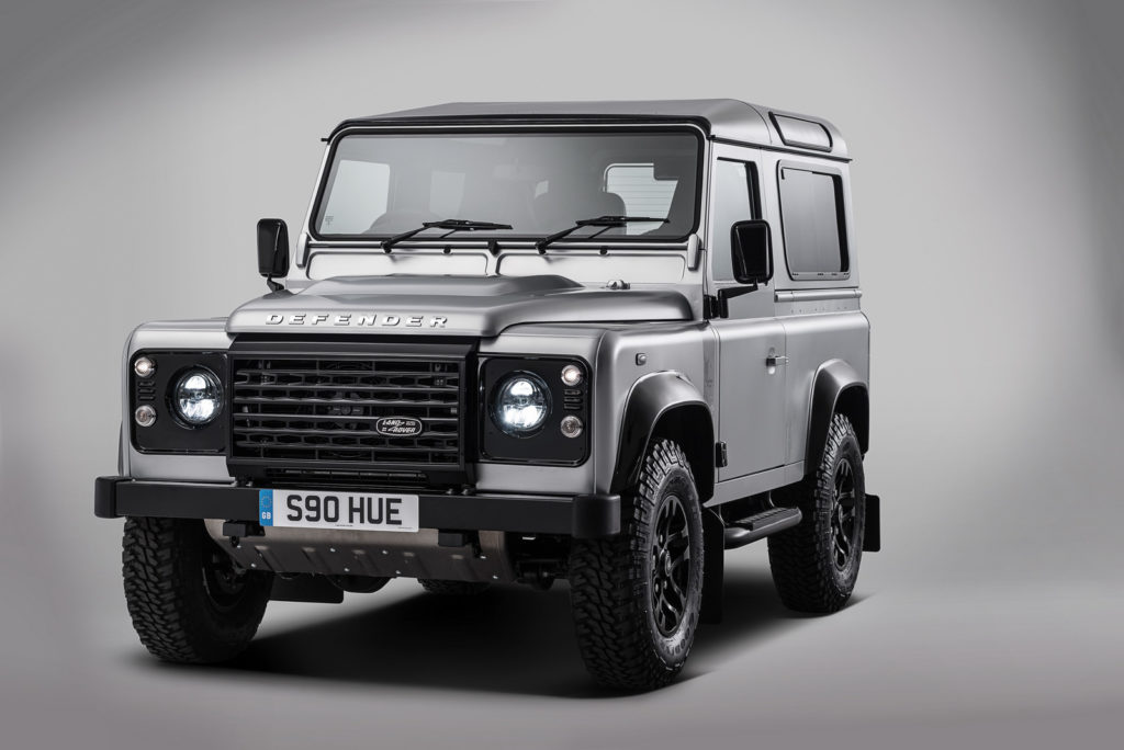 Land Rover has trademarked again the Defender name