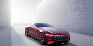 Leaked pictures of the Mercedes-Maybach 6 Vision Concept