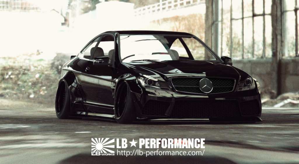 Mercedes-Benz C63 AMG Coupe by Liberty Walk