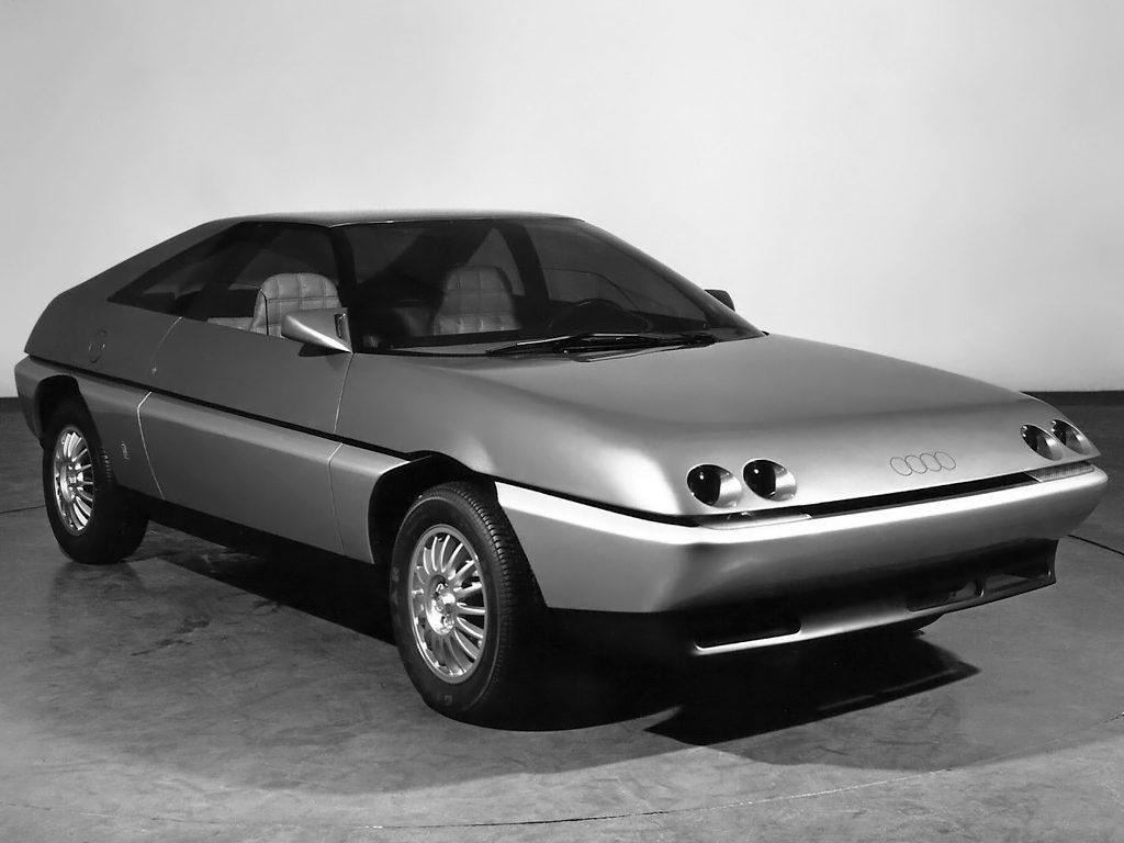 Old Concept Cars Audi Quartz Coupe