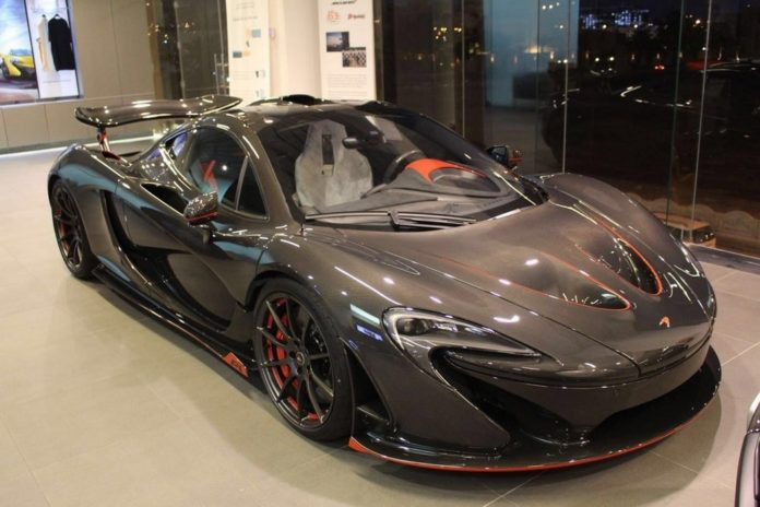 One of the five McLaren P1 Carbon Series is up for sale