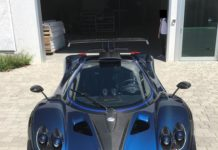One-off Pagani Zonda by Mileson