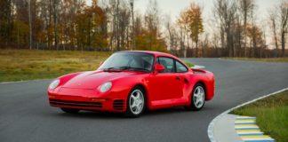 Porsche 959 Komfort heads to auction