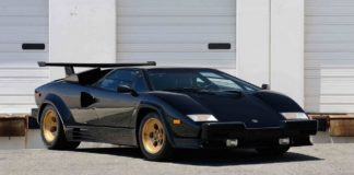 Rare Lamborghini Countach LP5000 Quattrovalvole heads to auction