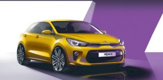 Renderings of the new Kia Rio