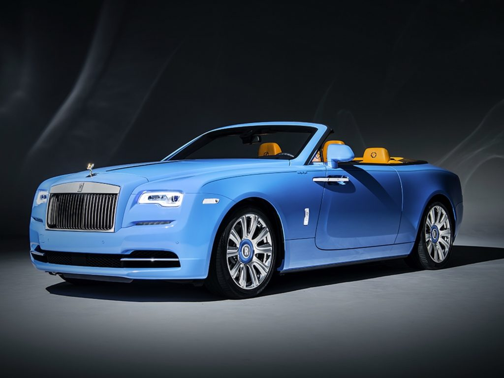 Rolls Royce has prepared another bespoke Dawn