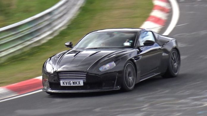 Spy Video of the Aston Martin DB11