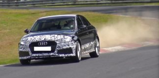 Spy Video of the Audi RS3 Sedan