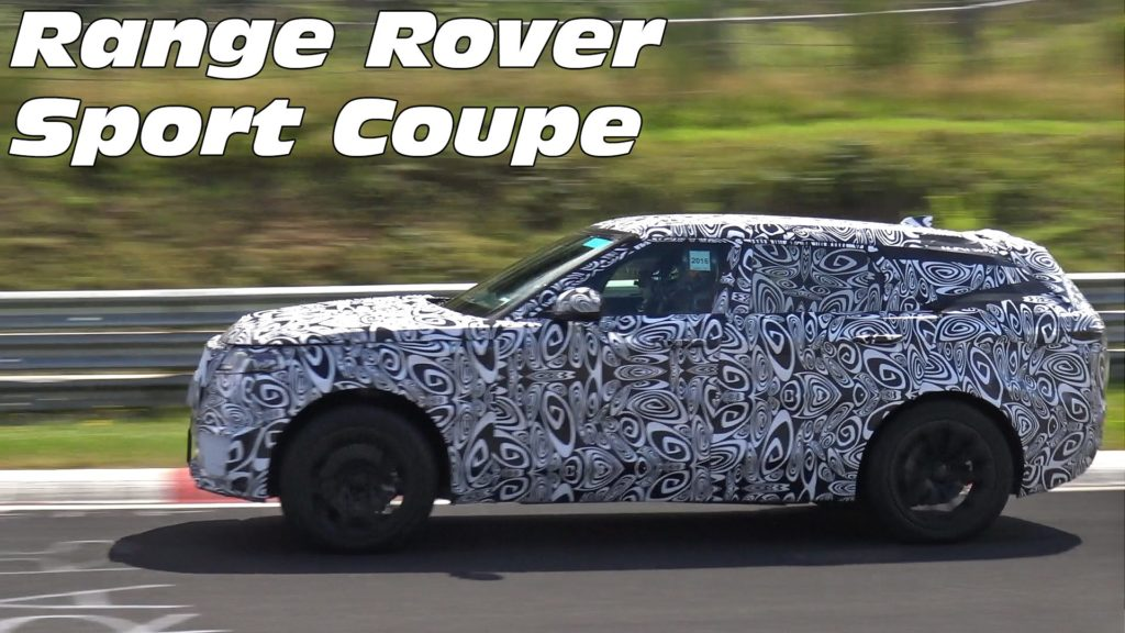 Spy video of the Range Rover Sport Coupe at Nurburgring