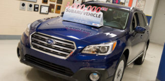 Subaru has build 3,000,000 cars in USA