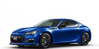 Subaru has trademarked the BRZ tS name