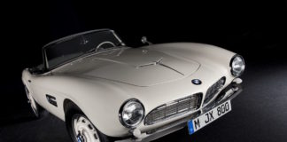 The BMW 507 of Elvis Presley was completely restored