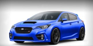 The new Subaru WRX STi will be equipped with a 2.1 liter turbo engine with 320 hp