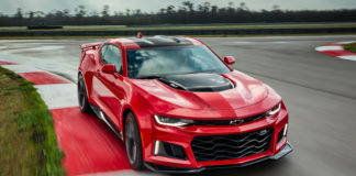 The official specs of the new Chevrolet Camaro ZL1
