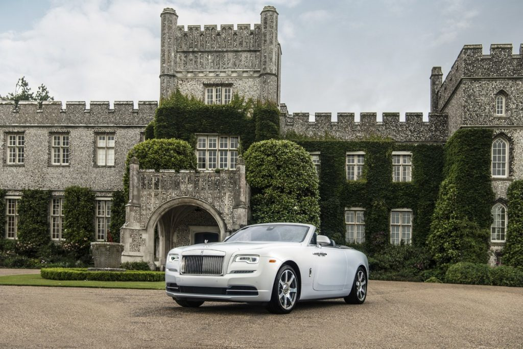 Three new bespoke Rolls-Royce Dawn