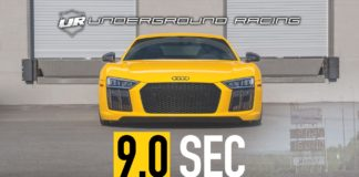 Underground Racing has prepared the fastest Audi R8 in the quarter-mile