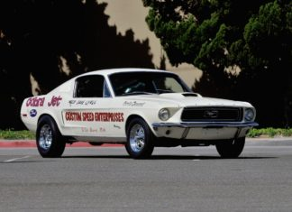 1968 Ford Mustang Cobra Jet heads to auction