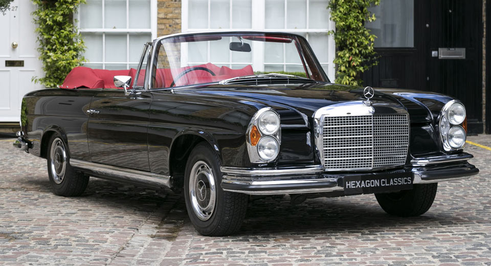 1970 mercedes 280 se 3 5 cabriolet for sale. Black Bedroom Furniture Sets. Home Design Ideas