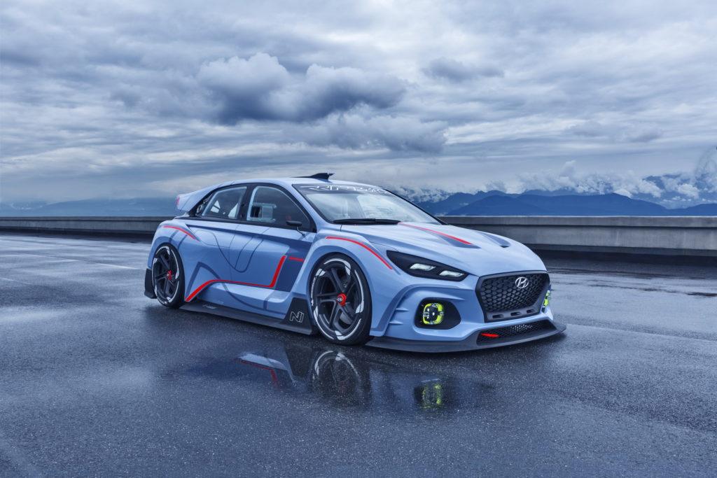 2016 Paris auto show Hyundai RN30 Concept