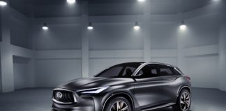 2016 Paris auto show Infiniti QX Sport Inspiration concept