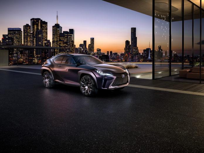 2016 Paris auto show Lexus UX concept